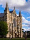 Καθεδρικός ναός του Σαλίσμπερυ Στοκ φωτογραφία με δικαίωμα ελεύθερης χρήσης