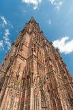 Καθεδρικός ναός του Στρασβούργου Στοκ φωτογραφίες με δικαίωμα ελεύθερης χρήσης