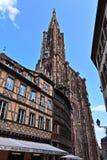 Καθεδρικός ναός του Στρασβούργου στοκ φωτογραφία με δικαίωμα ελεύθερης χρήσης