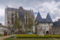 Καθεδρικός ναός του Beauvais, Γαλλία Στοκ φωτογραφίες με δικαίωμα ελεύθερης χρήσης