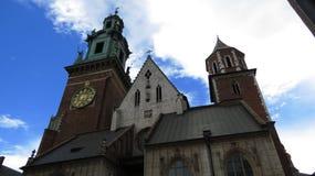 Καθεδρικός ναός του Castle Wawel Στοκ εικόνα με δικαίωμα ελεύθερης χρήσης