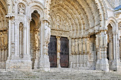 Καθεδρικός ναός του Chartres στο Eure-et-Loir Στοκ Εικόνες