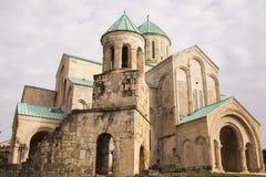 Καθεδρικός ναός του Dormition, ή καθεδρικός ναός Kutaisi, συχνότερα γνωστός ως καθεδρικός ναός Bagrati Στοκ φωτογραφία με δικαίωμα ελεύθερης χρήσης