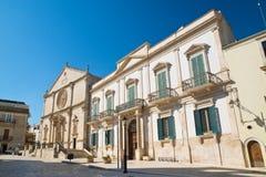 Καθεδρικός ναός του fonti Acquaviva delle Πούλια Ιταλία στοκ φωτογραφίες με δικαίωμα ελεύθερης χρήσης