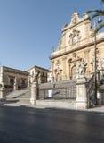 Καθεδρικός ναός του modica Ραγκούσα Σικελία Ιταλία Ευρώπη Αγίου Peter Στοκ φωτογραφία με δικαίωμα ελεύθερης χρήσης
