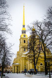 Καθεδρικός ναός του Peter και του Paul Άγιος-Πετρούπολη Στοκ Εικόνα