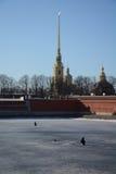 Καθεδρικός ναός του Peter και του Paul Στοκ Εικόνα
