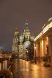 Καθεδρικός ναός του Savior στο αίμα στη Αγία Πετρούπολη Στοκ εικόνα με δικαίωμα ελεύθερης χρήσης