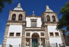 Καθεδρικός ναός του Setubal, ST Mary της Grace Πορτογαλία Στοκ Εικόνες
