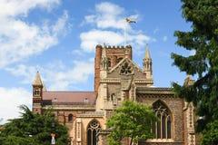 Καθεδρικός ναός του ST Albans, Αγγλία Στοκ Εικόνες