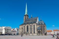 Καθεδρικός ναός του ST Bartholomew, Plzen, Τσεχία Στοκ εικόνα με δικαίωμα ελεύθερης χρήσης