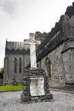 Καθεδρικός ναός του ST Canices και στρογγυλός πύργος Kilkenny Στοκ φωτογραφία με δικαίωμα ελεύθερης χρήσης