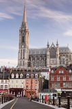 Καθεδρικός ναός του ST Colman, Cobh, κοβάλτιο φελλός Στοκ Φωτογραφίες