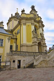 Καθεδρικός ναός του ST George - ο κύριος ελληνικός καθολικός καθεδρικός ναός, Lviv, Ουκρανία Στοκ Φωτογραφίες
