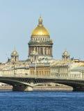 Καθεδρικός ναός του ST Isaac, Άγιος Πετρούπολη Στοκ φωτογραφίες με δικαίωμα ελεύθερης χρήσης