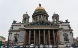 Καθεδρικός ναός του ST Isaac το φθινόπωρο Στοκ Εικόνες