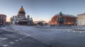Καθεδρικός ναός του ST Isaac ` s, τετράγωνο του ST Isaac ` s, Αγία Πετρούπολη Στοκ φωτογραφίες με δικαίωμα ελεύθερης χρήσης