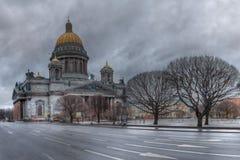 Καθεδρικός ναός του ST Isaac ` s, τετράγωνο του ST Isaac ` s, Αγία Πετρούπολη Στοκ Φωτογραφία