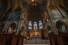 Καθεδρικός ναός του ST John ο βαπτιστικός--Σαβάνα Στοκ εικόνα με δικαίωμα ελεύθερης χρήσης