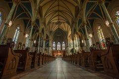 Καθεδρικός ναός του ST John ο βαπτιστικός--Σαβάνα Στοκ φωτογραφία με δικαίωμα ελεύθερης χρήσης