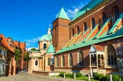 Καθεδρικός ναός του ST John ο βαπτιστικός σε Wroclaw, Πολωνία Στοκ Εικόνα