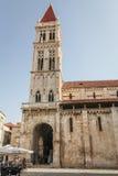 Καθεδρικός ναός του ST Lawrence σε Trogir Στοκ εικόνα με δικαίωμα ελεύθερης χρήσης