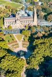 Καθεδρικός ναός του ST Mary - εναέρια άποψη του Σίδνεϊ - της Αυστραλίας Στοκ Εικόνες