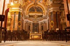 Καθεδρικός ναός του ST Paul, Mdina, Μάλτα Στοκ Εικόνες