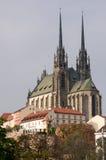 Καθεδρικός ναός του ST Peter και Paul, Μπρνο στοκ εικόνες με δικαίωμα ελεύθερης χρήσης