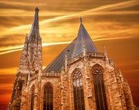 Καθεδρικός ναός του ST Stephan στη Βιέννη Στοκ Εικόνες