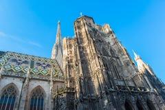 Καθεδρικός ναός του ST Stephen στη Βιέννη, Αυστρία Στοκ Εικόνες
