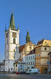Καθεδρικός ναός του ST Stephen, Letomerice, Τσεχία Στοκ φωτογραφίες με δικαίωμα ελεύθερης χρήσης
