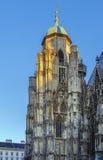 Καθεδρικός ναός του ST Stephen ` s, Βιέννη Στοκ Φωτογραφία