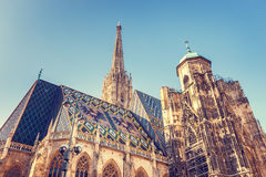 Καθεδρικός ναός του ST Stephen ` s στη Βιέννη Στοκ Φωτογραφίες