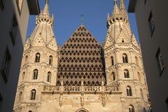 Καθεδρικός ναός του ST Stephen ` s - Stephansdom στη Βιέννη Στοκ εικόνες με δικαίωμα ελεύθερης χρήσης