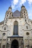 Καθεδρικός ναός του ST Stephen (Stephansdom) στη Βιέννη, Αυστρία Ο καθεδρικός ναός είναι εκκλησία μητέρων Archdiocese της Βιέννης Στοκ Εικόνες