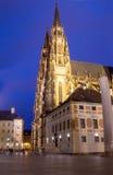 Καθεδρικός ναός του ST Vitus (Ρωμαίος - καθολικός καθεδρικός ναός) στο Κάστρο της Πράγας Στοκ Φωτογραφίες