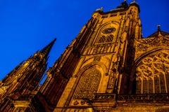 Καθεδρικός ναός του ST Vitus Στοκ φωτογραφίες με δικαίωμα ελεύθερης χρήσης