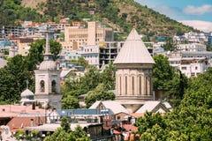 Καθεδρικός ναός του Tbilisi Sioni, Γεωργία Καθεδρικός ναός Αγίου Mary Zio Στοκ εικόνα με δικαίωμα ελεύθερης χρήσης