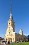 Καθεδρικός ναός των Αγίων Peter και Paul στο Peter και Paul Fortres Στοκ φωτογραφία με δικαίωμα ελεύθερης χρήσης