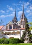 Καθεδρικός ναός των Αγίων Peter και Paul, Petrov, πόλη Μπρνο, Μοραβία, Στοκ Εικόνες