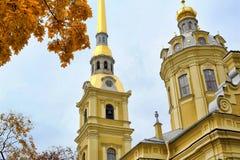 Καθεδρικός ναός των αποστόλων Peter και Paul Στοκ Φωτογραφία