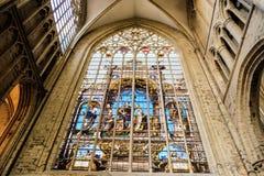 καθεδρικός ναός των Βρυξελλών Στοκ φωτογραφία με δικαίωμα ελεύθερης χρήσης