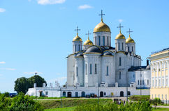 Καθεδρικός ναός υπόθεσης, Βλαντιμίρ, χρυσό δαχτυλίδι της Ρωσίας στοκ εικόνες με δικαίωμα ελεύθερης χρήσης