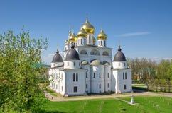 Καθεδρικός ναός υπόθεσης σε Dmitrov Κρεμλίνο, Ρωσία Στοκ Φωτογραφία