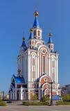 Καθεδρικός ναός υπόθεσης σε Khabarovsk, Ρωσία Στοκ φωτογραφίες με δικαίωμα ελεύθερης χρήσης