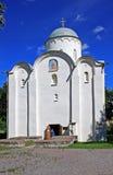 Καθεδρικός ναός υπόθεσης σε Staraya Ladoga, Ρωσία Στοκ φωτογραφία με δικαίωμα ελεύθερης χρήσης