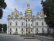 Καθεδρικός ναός υπόθεσης στο Κίεβο Pechersk Lavra στο Κίεβο Στοκ Φωτογραφίες