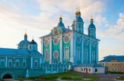 Καθεδρικός ναός υπόθεσης το βράδυ Στοκ εικόνες με δικαίωμα ελεύθερης χρήσης