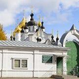Καθεδρικός ναός χριστιανισμού στη Ρωσία, πόλη Kostroma, μοναστήρι Ipatievsky, λίκνο του σπιτιού Romanovs Στοκ Εικόνα
